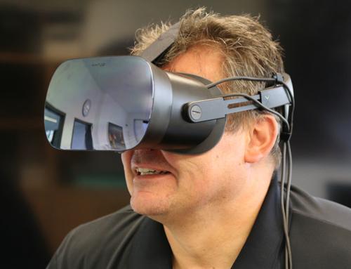 Wir haben die High-End VR Brille Varjo VR-1 getestet