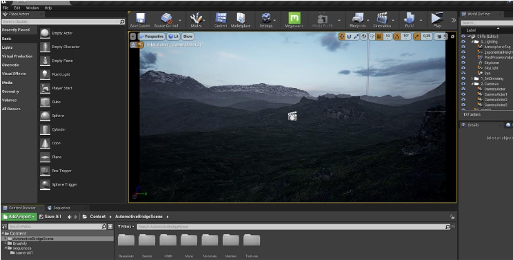 Unreal Engine Landscape